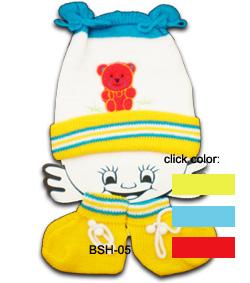 Model: Topi Rajut - Terbuat dari Rajutan - Untuk bayi 0-3 bulan - Price: Rp 26,850/pc ...